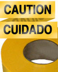 Caution Cuidado Tape